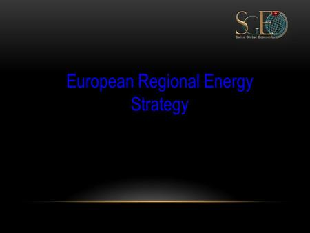 European Regional Energy Strategy. Country Overview: Germany Typical European energy layout:  34% oil, 23% natural gas, 26% coal  11% nuclear; 7% renewable.