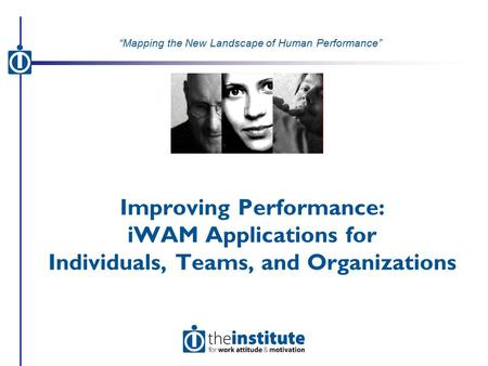 Inventory for Work Attitude & Motivation (iWAM)