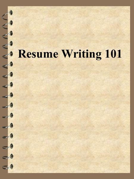 Resume Writing 101. What Is The Initial Amount Of Time An Employer Takes To  Review