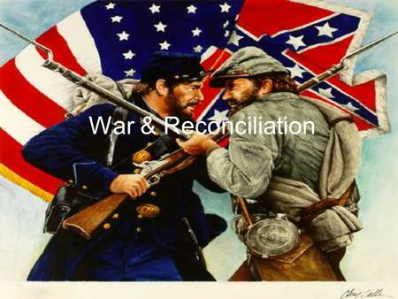 War & Reconciliation. Time Frame This literary movement was from around 1852-1877. It spans from around the publishing of Uncle Tom's Cabin to the end.
