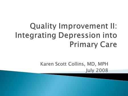 Karen Scott Collins, MD, MPH July 2008. Public Benefit Corporation Governing:  11 Acute Care Facilities  Four Long Term Care Facilities  Six Diagnostic.