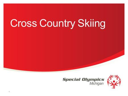 Michigan Cross Country Skiing 1. Uniforms  Bibs: all competitors must wear competition bibs for both time trials and finals races.  Athletes should.