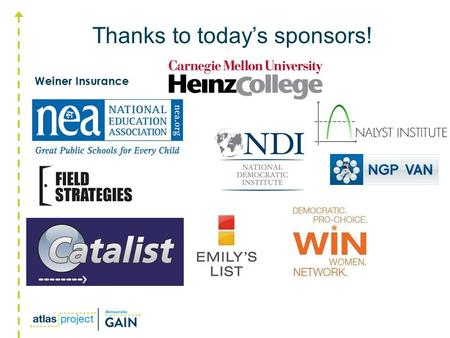 Thanks to today's sponsors! Weiner Insurance. The Unemployment Safety Net Yes, it can be scary. But, it's not the end of the world! #GAINPlan.