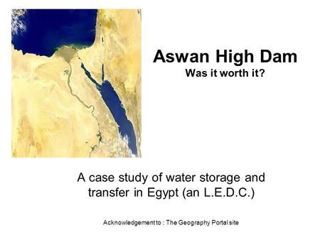 Aswan Dam - Wikipedia