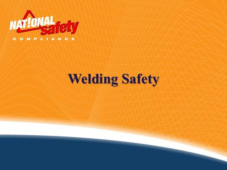 Welding Safety.