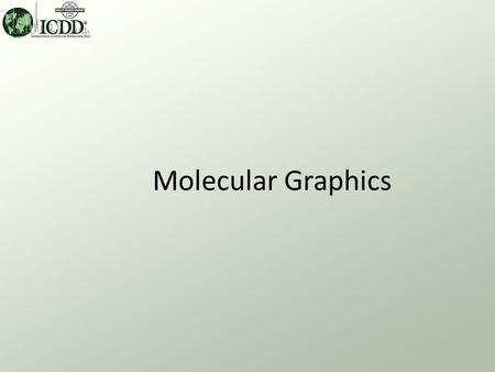 Molecular Graphics. Molecular Graphics What? PDF-4 products contain data sets with atomic coordinates. A molecular graphic package embedded in the product.