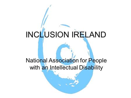 National Association for People with an Intellectual Disability