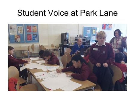 Student Voice at Park Lane. SCHOOL EQUIPMENT BY SAVILE PARK PRIMARY SCHOOL.