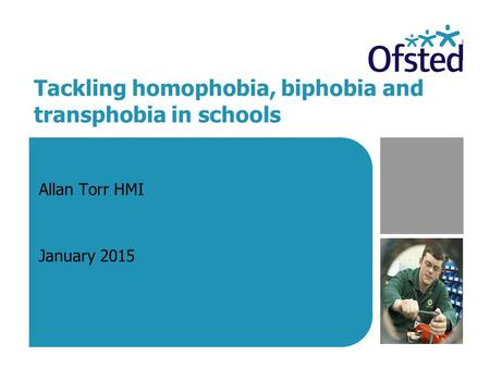 Tackling homophobia, biphobia and transphobia in schools