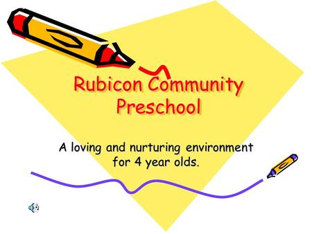 Rubicon Community Preschool