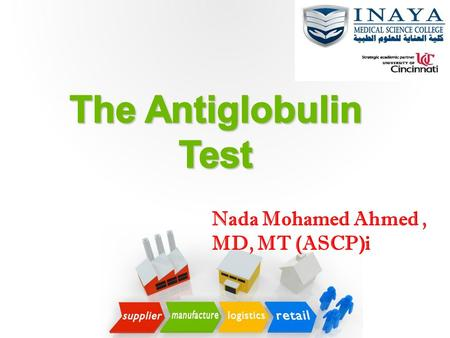 The Antiglobulin Test Nada Mohamed Ahmed , MD, MT (ASCP)i.