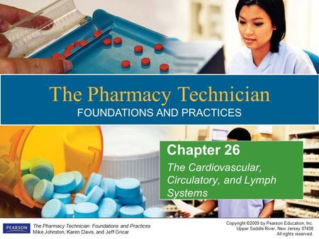 Pharmacy Technician foundation in communication