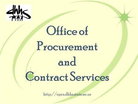Office of Procurement and Contract Services