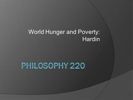 factors of world hunger essay