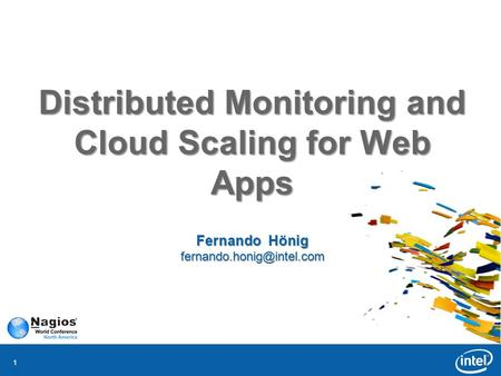 11 Distributed Monitoring and Cloud Scaling for Web Apps Fernando Hönig