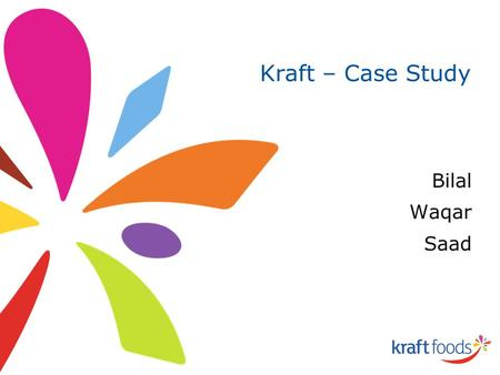 kraft foods case analysis Kraft foods the coffee pod launch a case study help, case study solution & analysis & - all through time, the tragedy has become viewed as the most emotionally pleasing type of drama, on account of its power to deliver the viewer into the dr.