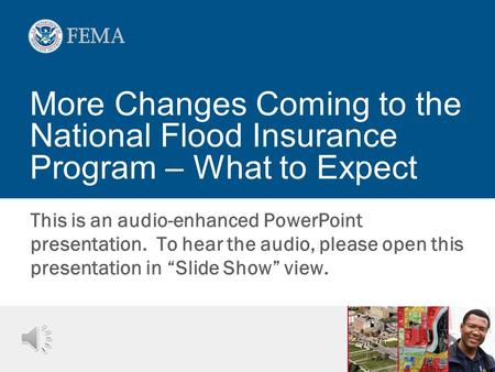 "This is an audio-enhanced PowerPoint presentation. To hear the audio, please open this presentation in ""Slide Show"" view. More Changes Coming to the National."