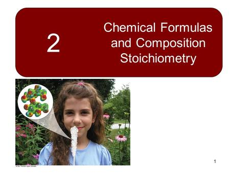 Chemical Formulas and Composition Stoichiometry