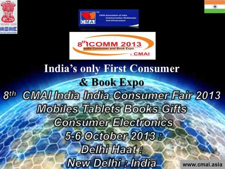 Www.cmai.asia. Over the past 7 years, ICOMM has grown into a world leading trade show that offers the best venue for overseas Mobile, Tablets,