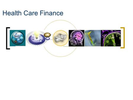 Health Care Finance.
