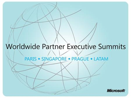 April 20112 Microsoft Confidential—Partner Use Only / Singapore.