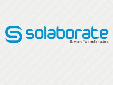 Who are we?  Solaborate is a technology social networking platform designed for professionals and companies to connect, discover, and collaborate. It.