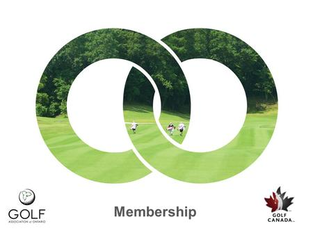 Membership. Welcome and Thank You for your time Why Change Decreasing connection with golfers The existing membership model used to speak to 90% of golfers…but.