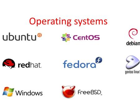 Operating systems. What is an operating system an OS is software that manages a computers basic functions such as scheduling tasks,executing programs.