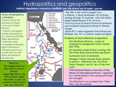 water conflict in nile basin among This article examines the transboundary water challenges among of how the water crisis is on the brink of conflict the water resources in the nile basin.