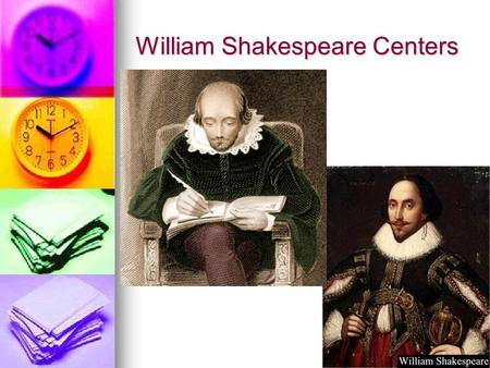 William Shakespeare Centers