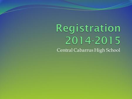 Central Cabarrus High School. Who is my Counselor?? A-G: Ms. Felker H-O: Ms. Brand P-Z: Mr. Witkowski.