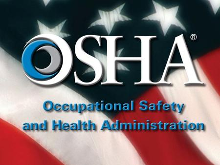 Federal Agency OSHA Injury and Illness Recordkeeping Requirements September 27, 2013 Mikki Holmes Office of Federal Agency Programs