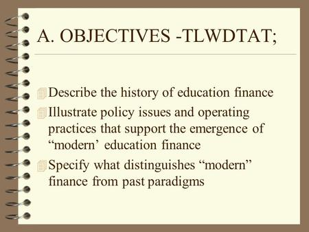 An introduction to the history and the status of education in todays society in the united states
