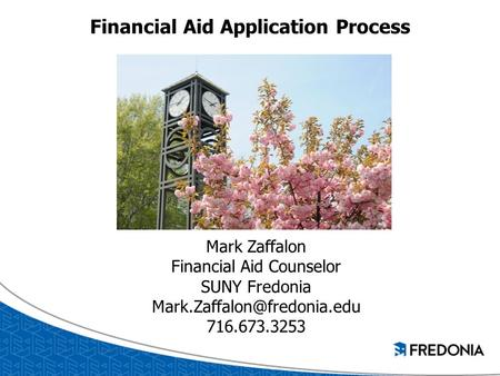 Financial Aid Application Process