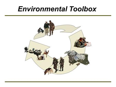 Environmental Toolbox. Technical Module Cultural Property Protection.