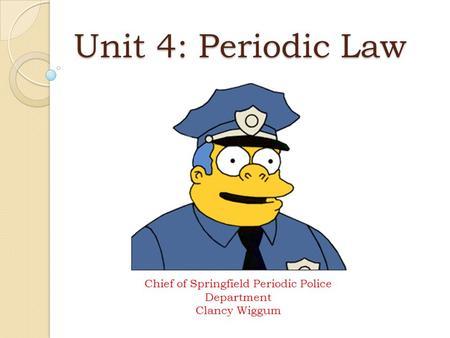 Periodic Law Example Element Baby Bo...