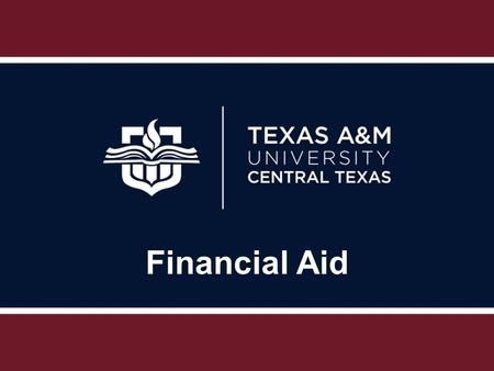 Financial Aid. Types of Financial Aid Grants (federal, state, and institutional) Scholarships (need & non-need based) Loans (federal Direct Loans & alternative)