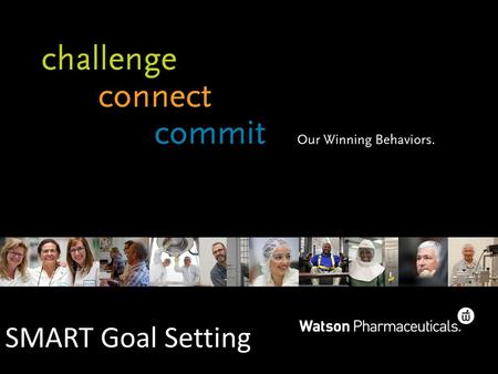 SMART Goal Setting. Introduction Goal Setting Exercise Identify 4-5 Key Goals/Responsibilities for 2012: 1. 2. 3. 4. 5.