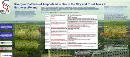 Divergent Patterns of Amphetamine Use in the City and Rural Areas in Northwest Poland Sobeyko J (1), Leszczyszyn-Pynka M (2), Parczewski M (2), Burris.