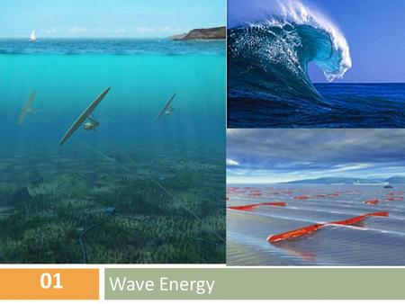 Wave Energy 01. Content  How it is produced?  Advantages and Disadvantages of this resource..  Proportion of the resource used world wide and in India.