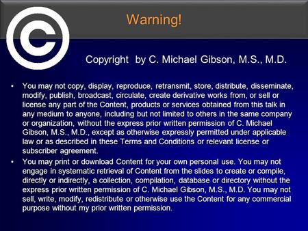 Warning!Warning! You may not copy, display, reproduce, retransmit, store, distribute, disseminate, modify, publish, broadcast, circulate, create derivative.