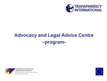 Advocacy and Legal Advice Centre –program-. Advocacy and Legal Advice Centre legal advice education and information advocacy.