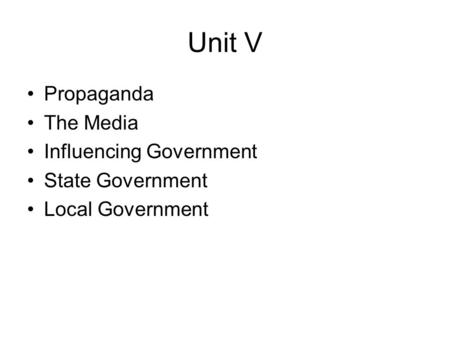 unit 265 causes of spread of
