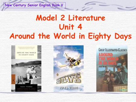 a literary analysis of around the world in eighty days Around the world in 80 days is written by jules verne it takes place in the late 1800's the major character phileas fogg, a stern and disciplined man claims that it is possible to go around the world in eighty days.