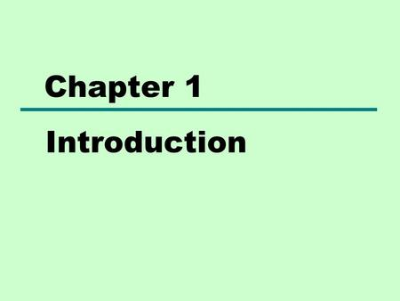 Chapter 1 Introduction. Computer Architecture selecting and interconnecting hardware components to create computers that meet functional, performance.
