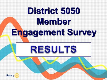 District 5050 Member Engagement Survey. Engagement Definition Member Engagement is a measure of a member's positive or negative emotional attachment to.