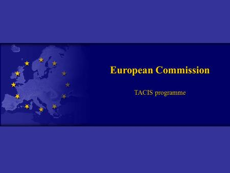 European Commission TACIS programme. European Business Registration Survey 2005.