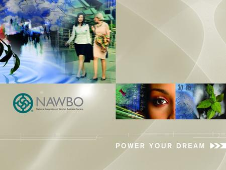 1. NAWBO 2011 Membership & Issues Survey Highlights of Key Findings Sponsored by Deluxe Corporation.