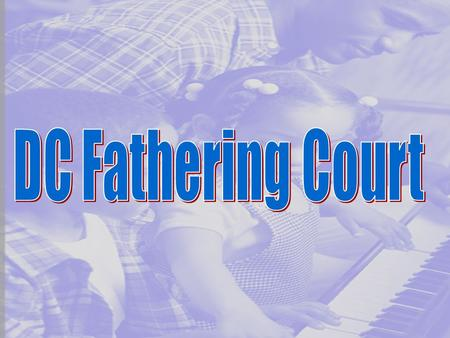 What is the Fathering Court? A program that offer non-custodial parents who have not been making child support payments in the District of Columbia, for.