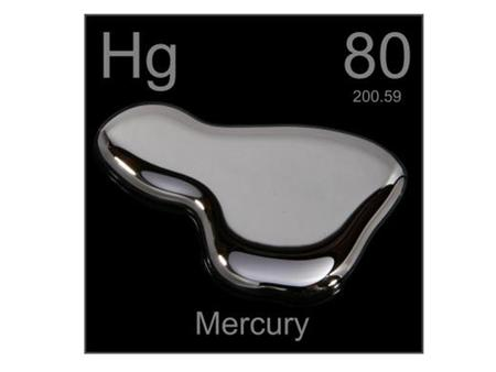 High concentration of mercury can cause poisoning. Can have side effects on nervous system and muscles. Symptoms: -Rashes -Numbness -Tooth loss -Tremors,